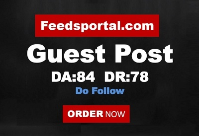 Write and Publish Guest Post On DA 84 Feedsportal.com Do-follow