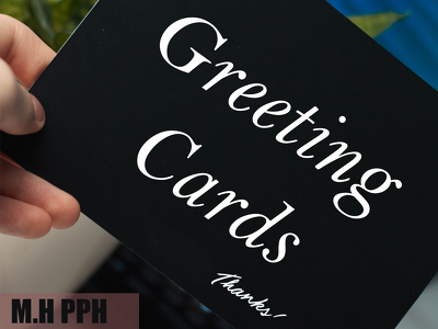 Design greeting card, business cards, & Invitaion Cards.