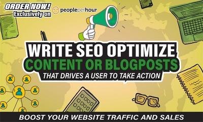 ✅ write Winning SEO Optimized Website Content ⭐ Blogposts