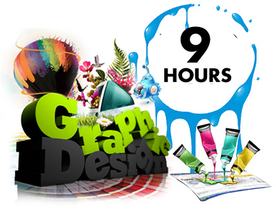 Be your graphics designer for 10 hours