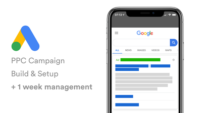 Build PPC campaigns, set up & optimise for results