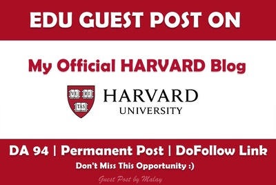 Publish a Post on My Official Harvard Alumni Blog - Harvard.edu