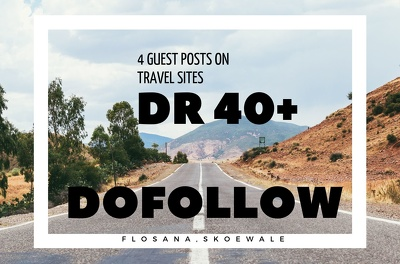 4 Guest Post on Travel Sites DR 40+