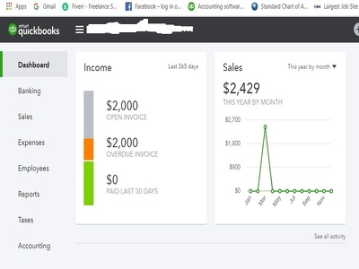Do Bookkeeping in Quickbooks online and Xero.