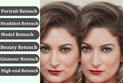 Be your best high-end retoucher (Model, Portrait, Headshot)