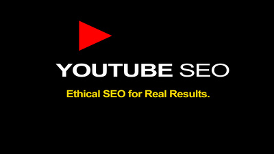 Optimise your Youtube video for organic search. Ethical SEO!!