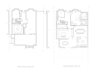 Design and create a Set of Planning Drawings for House Extension