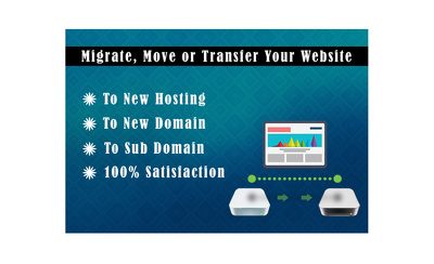 Migrate and Transfer Your Website to New Hosting or Domain Name