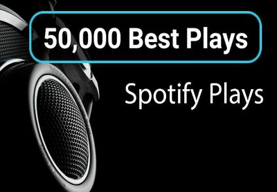 Promote your Spotify Song with 50,000 High Quality plays