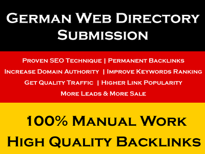 German Web Directory Submission To Grow Business In Germany
