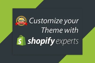Customize your Shopify theme and make desired updates to website