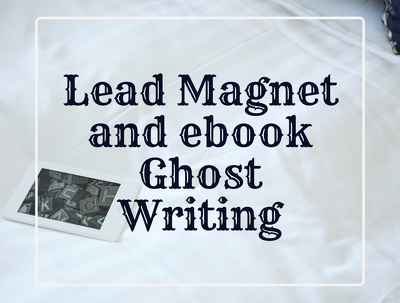 Write 2,500 words of your ebook or lead magnet