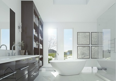 Provide photo realistic architectural renderings of 1 room