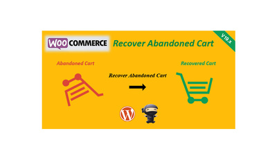 Add WooCommerce Recover Abandoned Cart on Your Wordpress Website