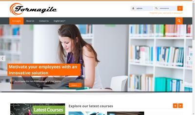 Create an e-learning moodle portal
