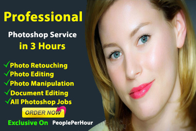 Do Any Photo Editing Or Photo Retouching Fast Delivery
