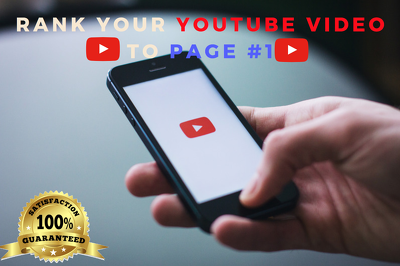 RANK YOUR VIDEO TO PAGE 1 YOUTUBE