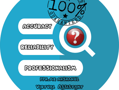 Virtual assistance/data entry support starting from 01 hour