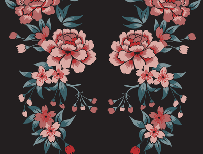Design an all-over repeat pattern/surface design