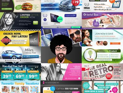 design Professional Web banner & Social Media Banner/Cover