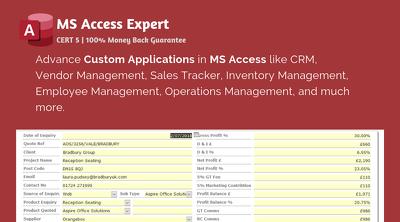 Build Custom MS Access Applications