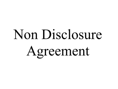 Draft a bilateral Non Disclosure Agreement