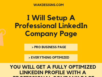 Fully Update Your Linkedin Profile And Business Page