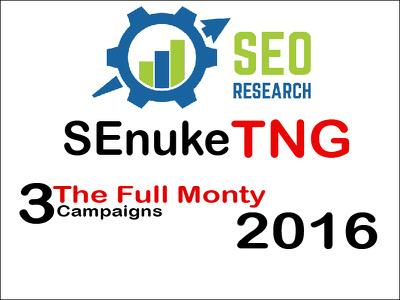 Provide SEnuke TNG The full monty 2016