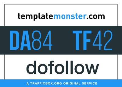 Publish a guest post on templatemonster.com - DA84