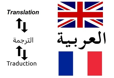 Do english french arabic translation