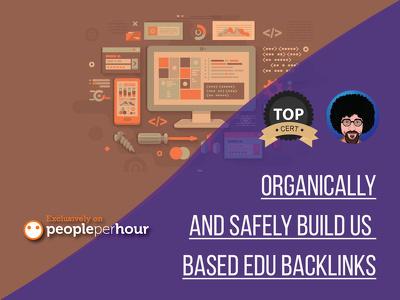 Organically and SAFELY build 15 US based EDU backlinks