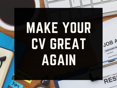 Create,write and edit CV