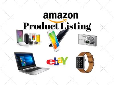 SEO Product Listing Amazon Ebay Etsy