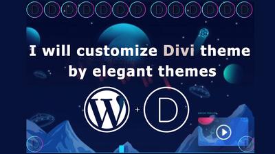 Customize Divi Theme By Elegant Themes