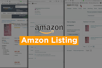 Do 1000 books listing in your amazon inventory