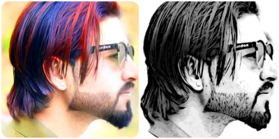 Create 3 Amazing drawings from your photos