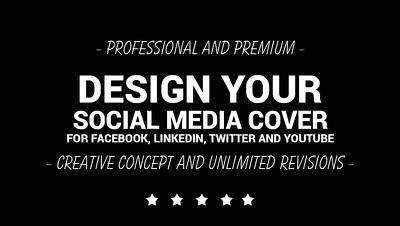 Design Social Media Covers and Avatar for 3 social media