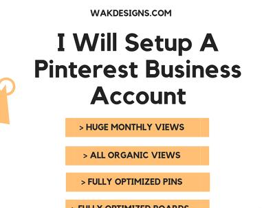 Setup Your Pinterest Business Account