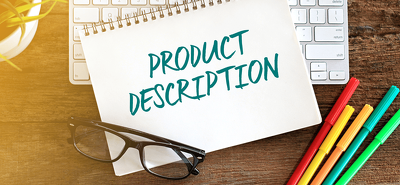 Write a 300-400 word product description with meta