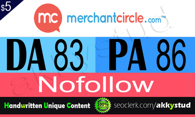 Write & Publish Guest Post on Merchantcircle.com DA- 85 Backlink