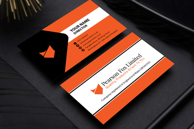 Design an amazing business card with unlimited revisions