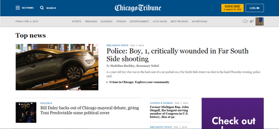 Write and publish a Guest Post on ChicagoTribune DA92