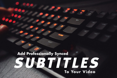 Add Subtitle to your video up to 10 minutes