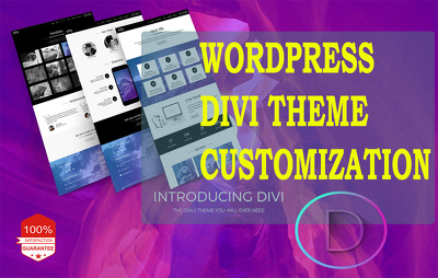Customize your WordPress Divi Theme