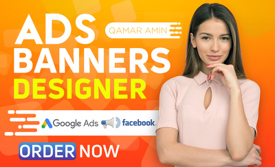 Design Banner Ads For Your Adwords Or Adroll Campaign