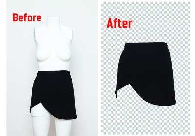 Cut out background and Make transparent 50 to 100 images