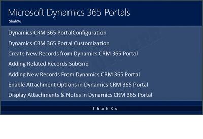 Customize and configure dynamics CRM portals