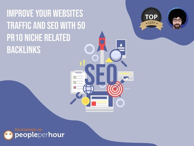 Improve your websites traffic and SEO with 50 PR10 Niche Related