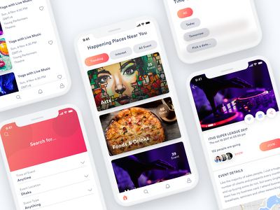 Create an amazing mobile ui/ux design