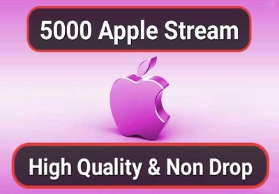 5000 Streams for Apple or Itunes music Promotion
